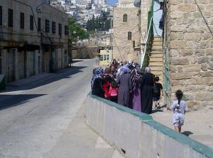 מעבר נפרד לערבים בחברון